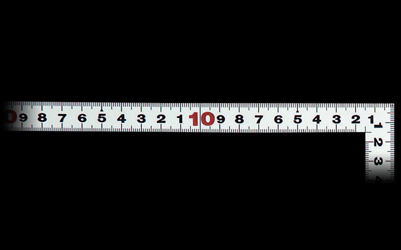 曲尺平ぴた  シルバー  50㎝/1尺6寸  併用目盛