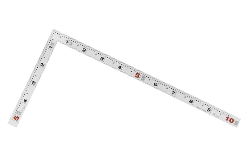 曲尺平ぴた  シルバー  30㎝/1尺  併用目盛
