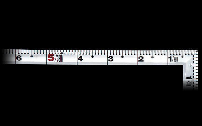 曲尺角厚  シルバー  1尺5寸  表裏同目