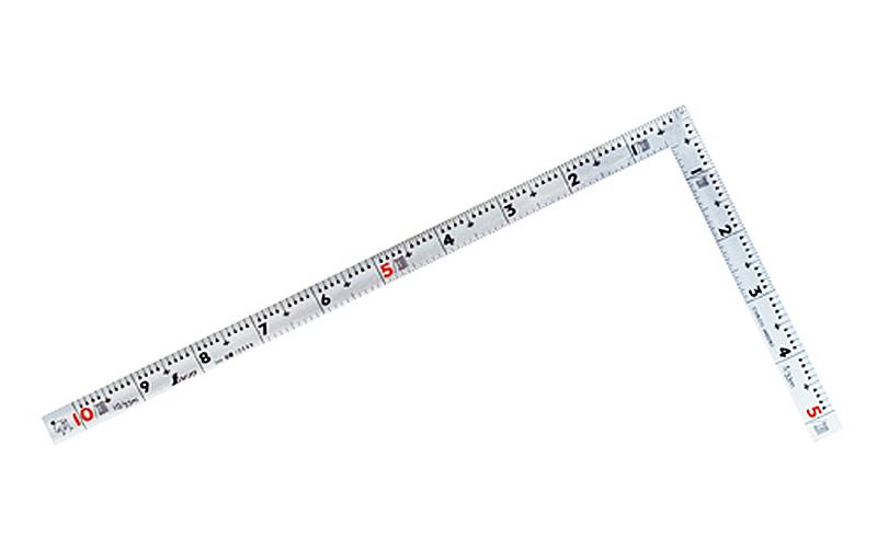 曲尺同厚  シルバー  1尺/30㎝  併用目盛  名作