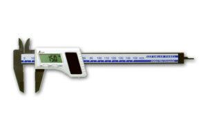 デジタルノギス  カーボンファイバー製  150㎜  ソーラーパネル