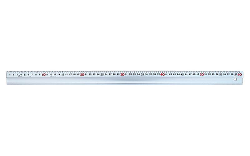 アルミ直尺  スーパーアル助  60㎝  コルク板付属