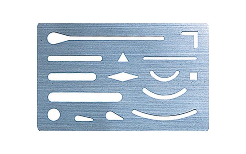 字消板  ステンレス製