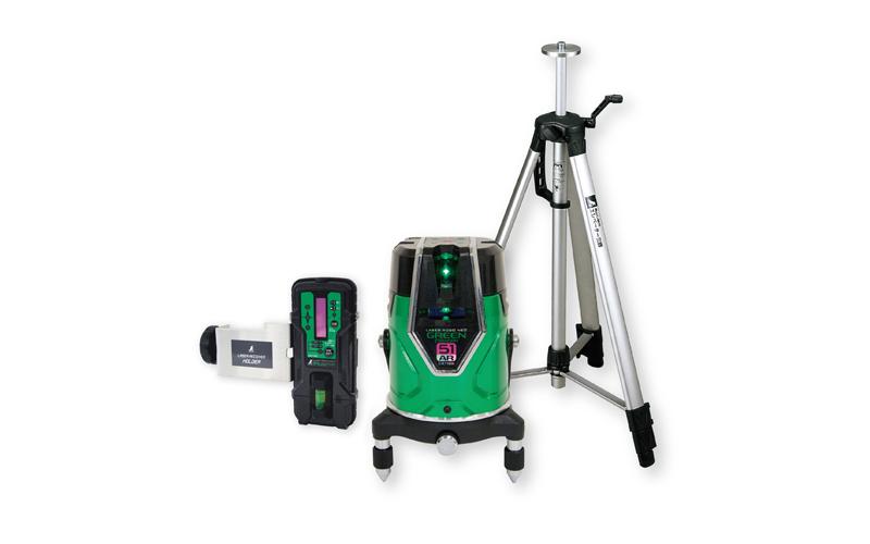 レーザーロボ  グリーンNeoESensor51AR受光器・三脚セット