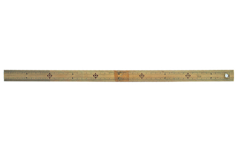 竹製ものさし  50㎝  ハトメ付