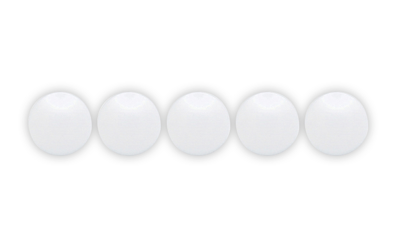 カラーマグネット  φ20  白  5ヶ入