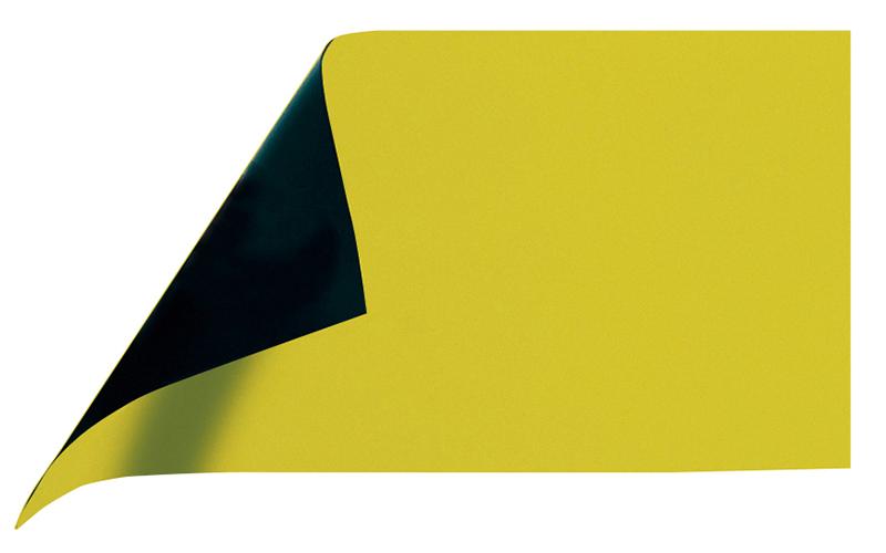 マグシート  つやあり  A  10×20㎝  0.8㎜厚  黄