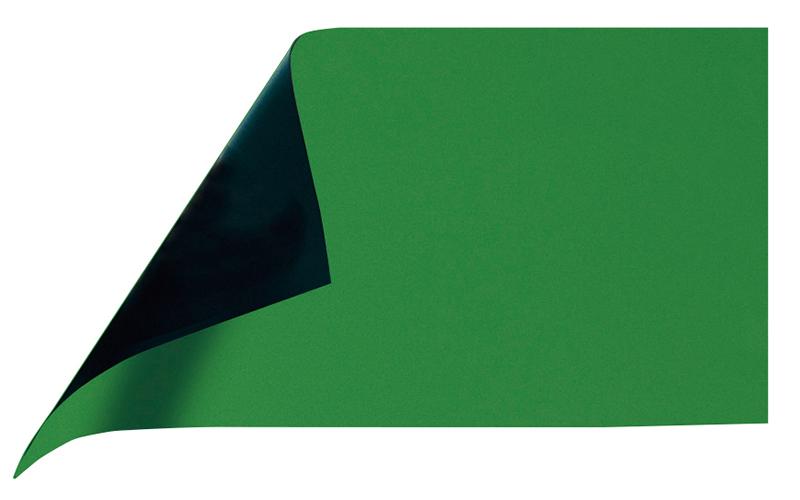 マグシート  つやあり  A  10×20㎝  0.8㎜厚  緑