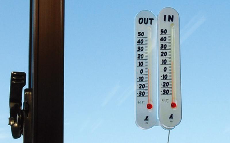 温度計  プチサーモ  ツイン  室内・室外