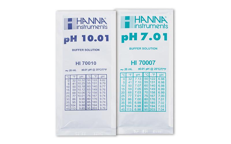 標準液  アルカリ校正用  (pH  10.01、pH7.01)  3組入