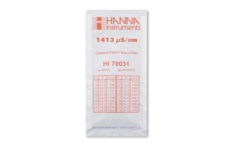 標準液  導電率校正用  1413μS/㎝  6袋入