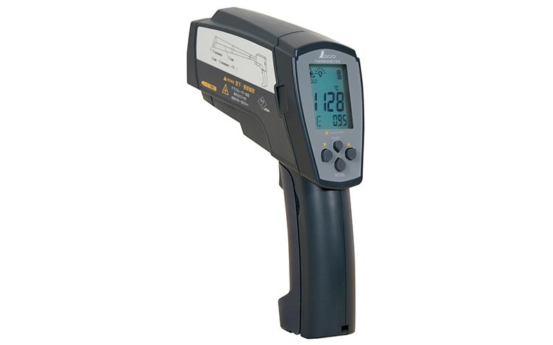 放射温度計H高温測定用デュアルレーザーポイント機能付放射率可変タイプ