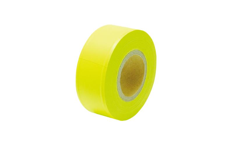 マーキングテープ  30㎜×50m  蛍光イエロー
