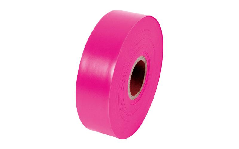 マーキングテープ  30㎜×100m  蛍光ピンク