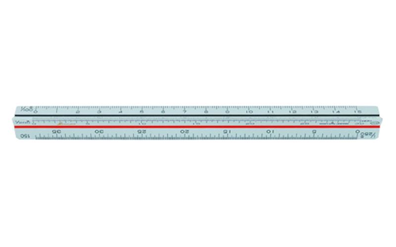 三角スケール  A-15  15㎝  土地家屋調査士用  JIS