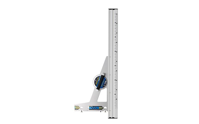 丸ノコガイド定規  エルアングル  アジャスト  1m  併用目盛角度調整付