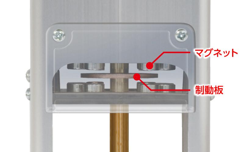 風防下げ振り  ピタット  Ⅱ  磁気制動式