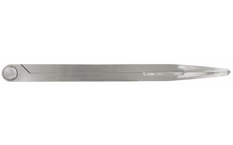 鋼製コンパス  D-2  25㎝  超硬チップ付