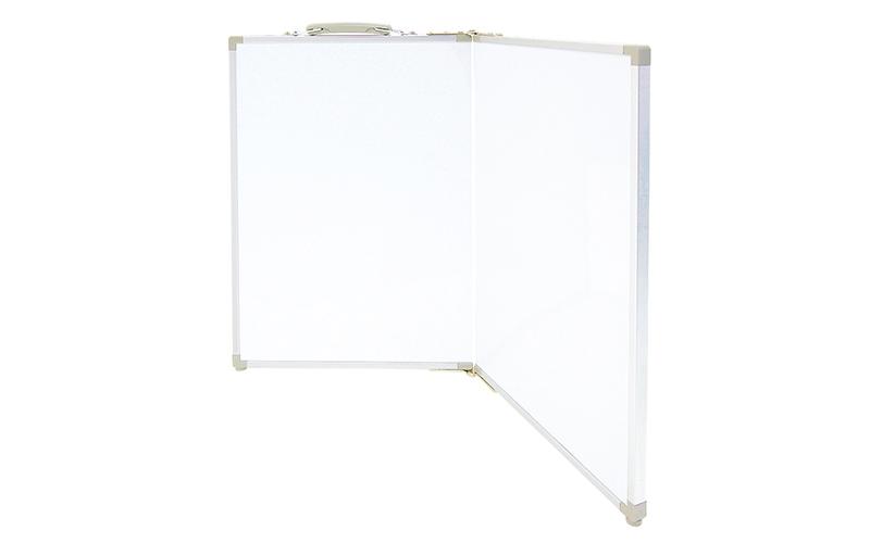 ホワイトボード  折畳式  OAW45×60㎝  無地  横