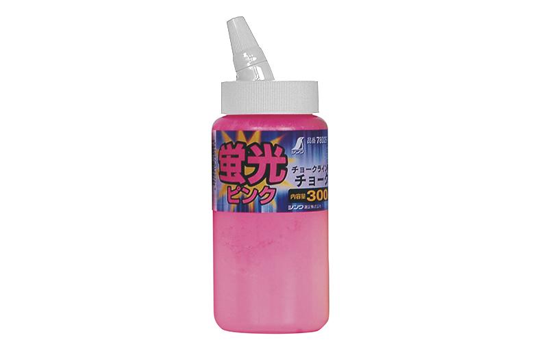 チョーク  チョークライン用  300g  蛍光ピンク