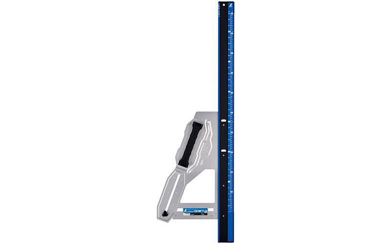 丸ノコガイド定規  エルアングルPlusシフト  1m  寸勾配切断機能付