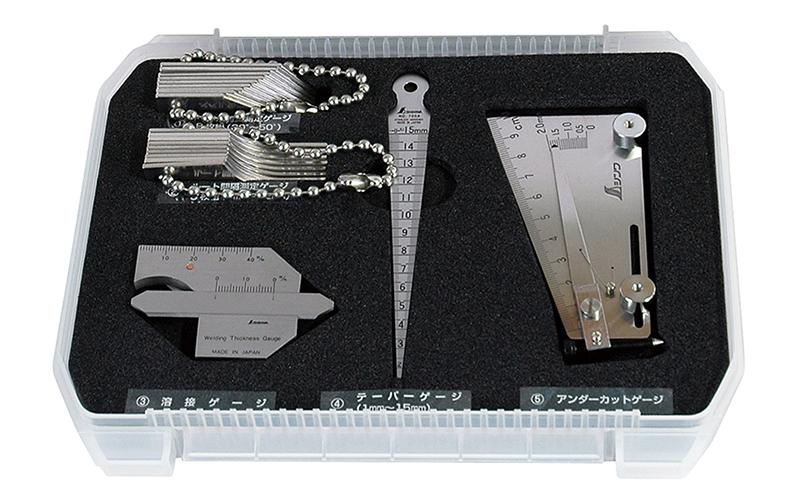 鉄骨精度測定器具  5点セット
