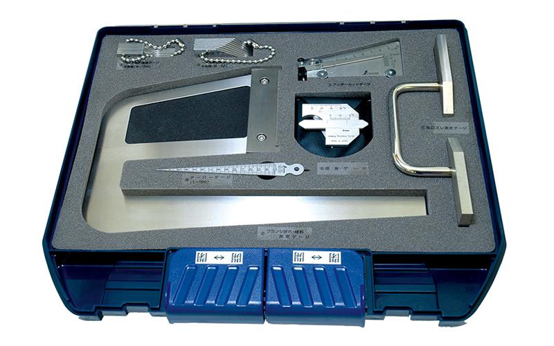 鉄骨精度測定器具  7点セット