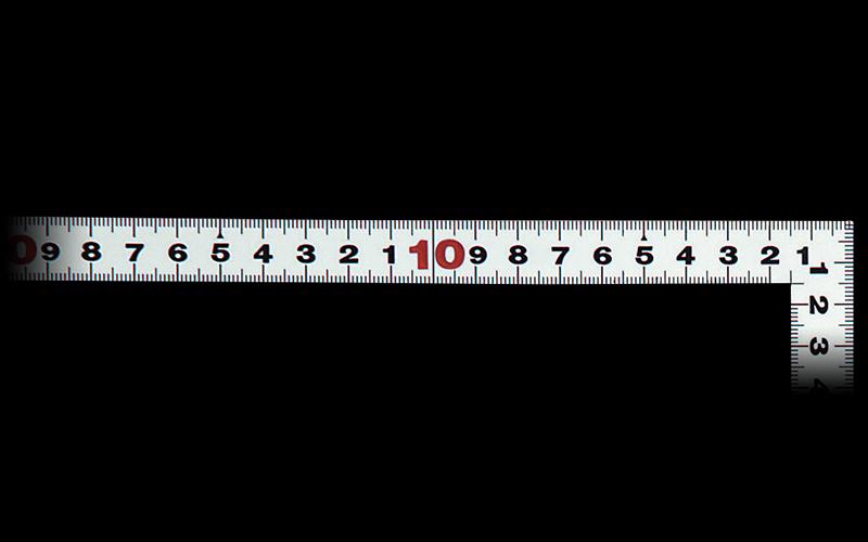 曲尺平ぴた  シルバー  50㎝/1尺5寸  併用目盛