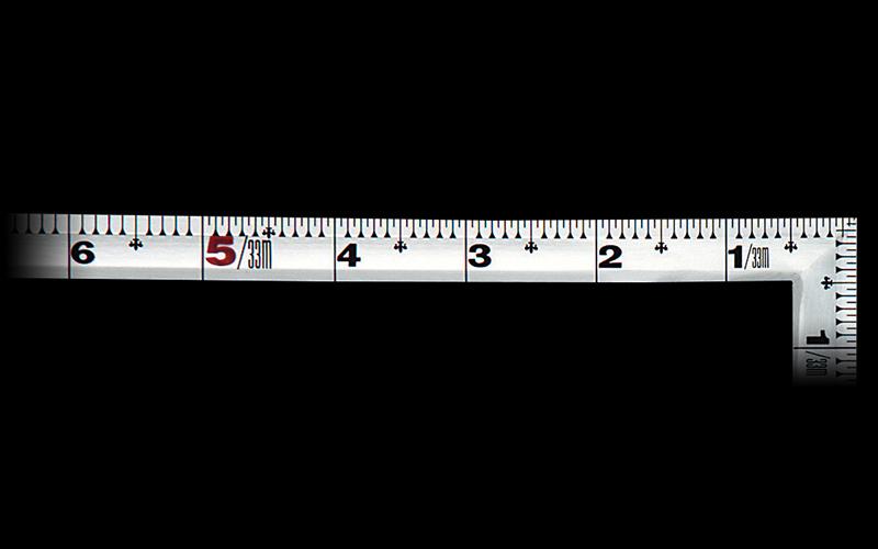 曲尺角厚  シルバー  1尺6寸/50㎝  併用目盛  鶴亀