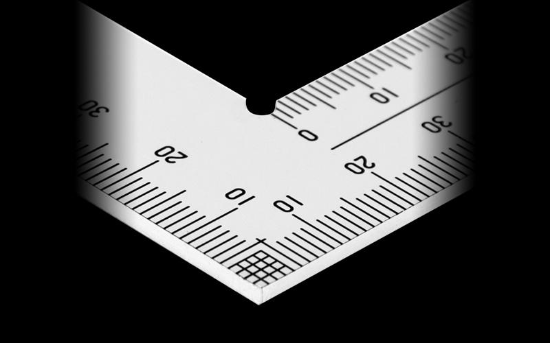 曲尺厚手広巾  ステン  50㎝  表裏同目  6段目盛  JIS