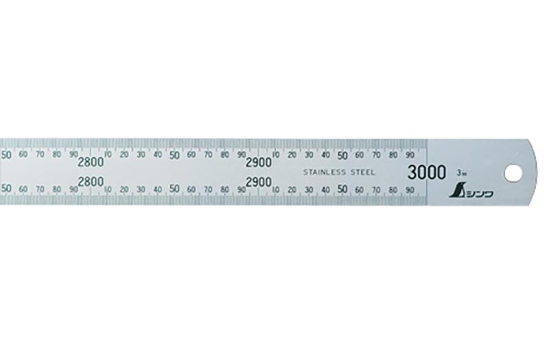 直尺  シルバー  3m