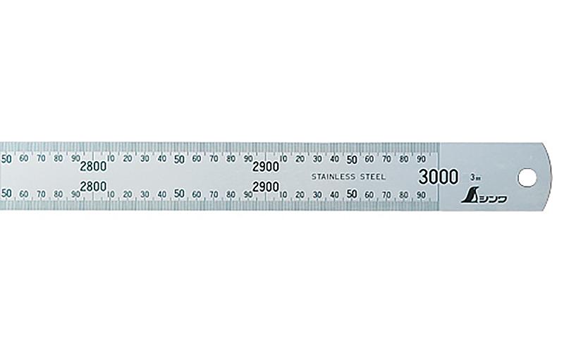 直尺  ステン  3m