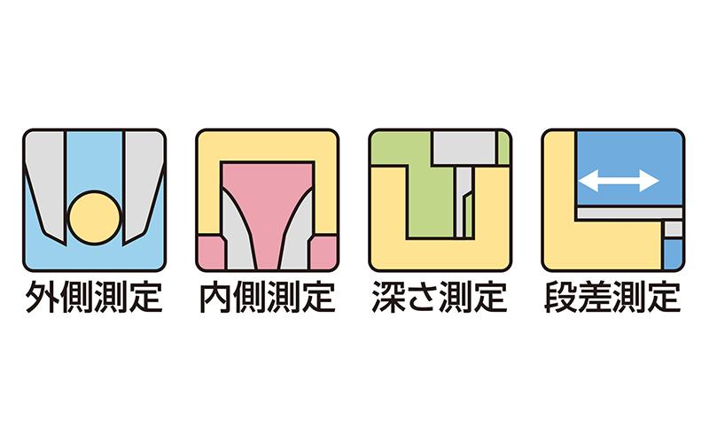 デジタルノギス  カーボンファイバー大文字  150㎜