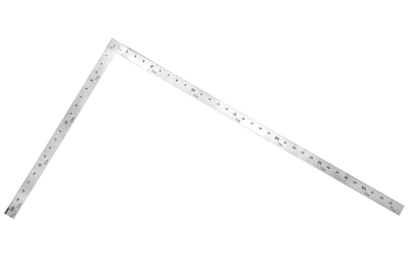 曲尺大金普及型  ステン  1m/3尺3寸  併用目盛