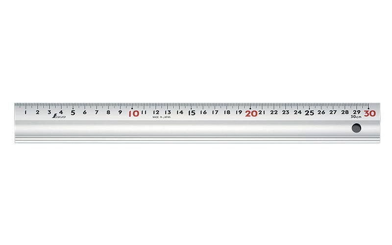 アルミ直尺  スーパーアル助  30㎝  コルク板付属