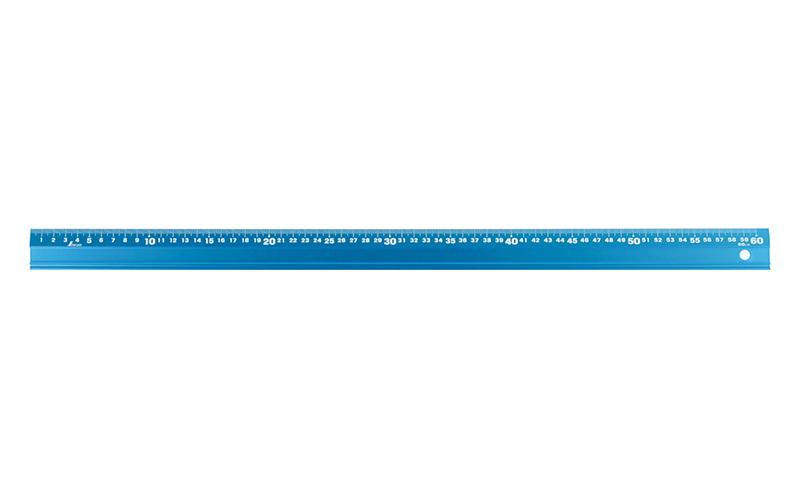 アルミ直尺  アル助  60㎝  シャイニングブルー