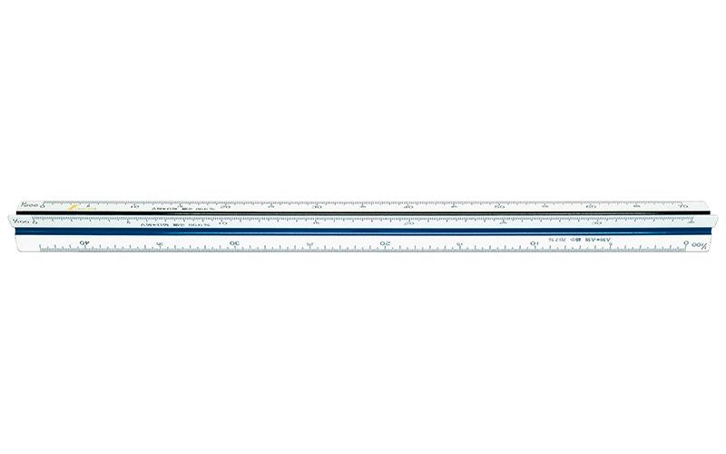 三角スケール  C-30  30㎝  縮小コピー用