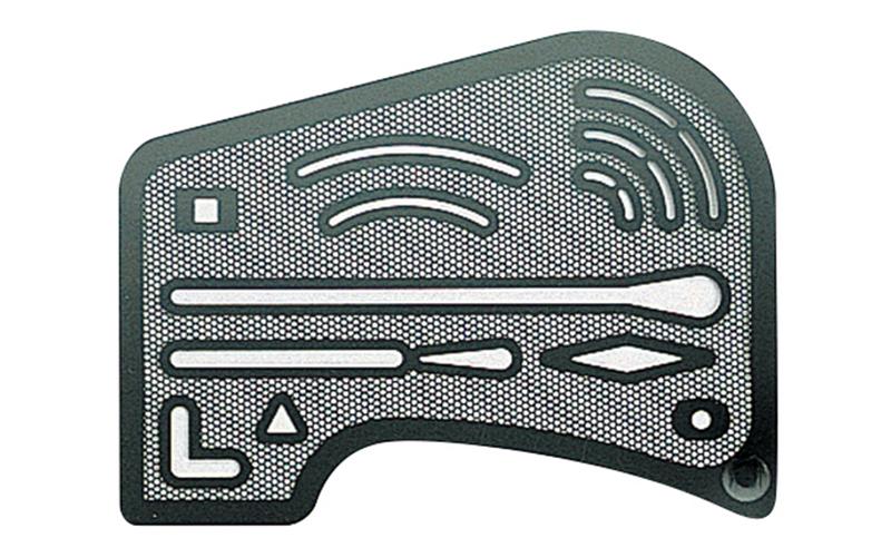 字消板  ステンレス製  メッシュ
