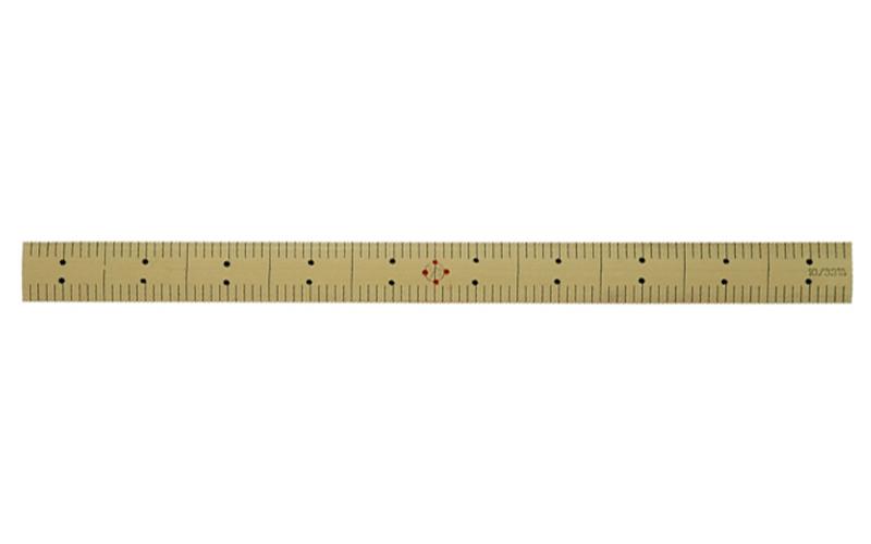竹製ものさし かね1尺 - シンワ...