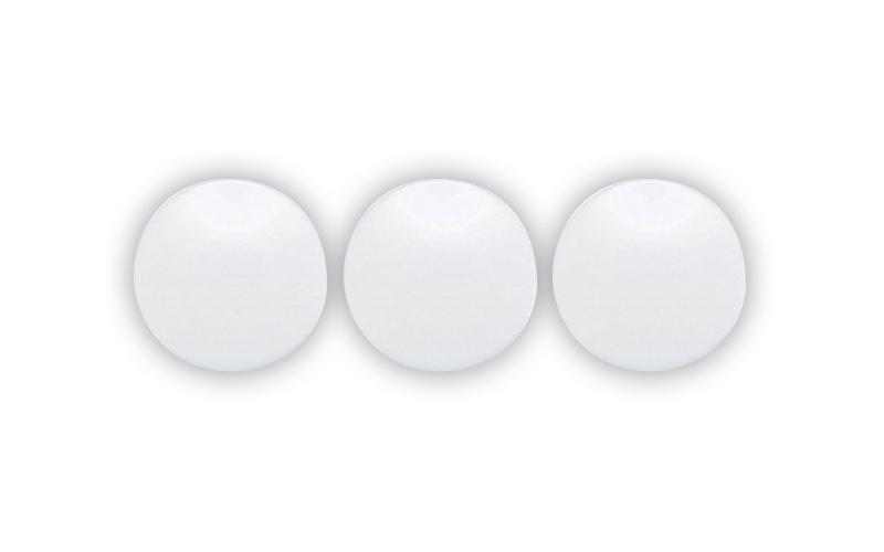カラーマグネット  φ30  白  3ヶ入