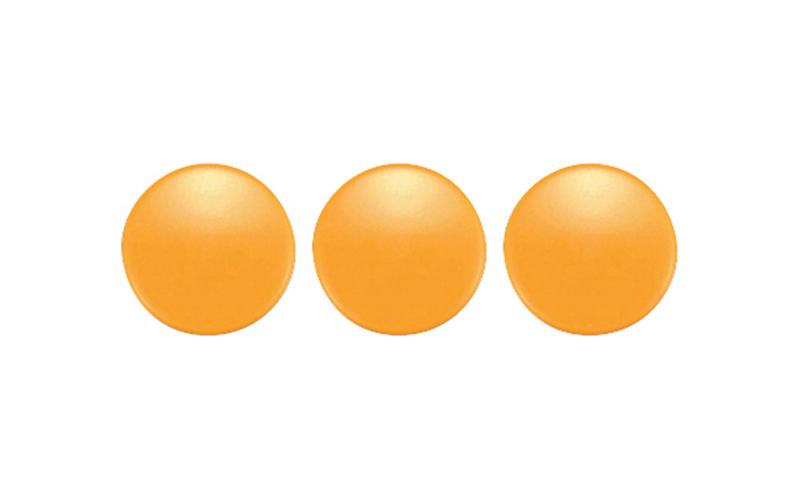 カラーマグネット  φ30  黄  3ヶ入