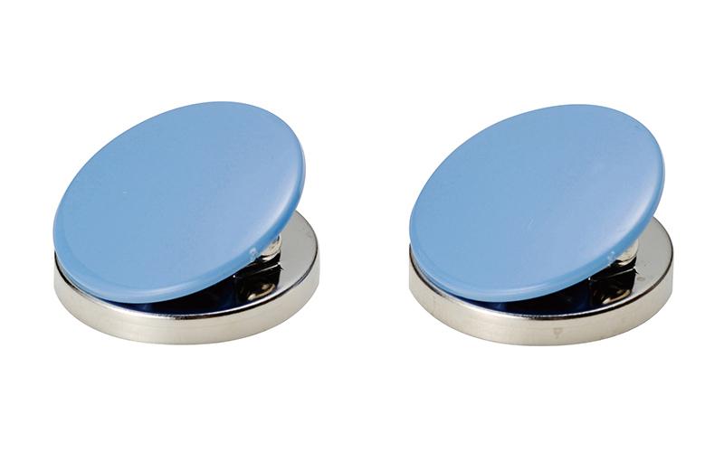 マグクリップ  丸型  A  青  2ヶ入
