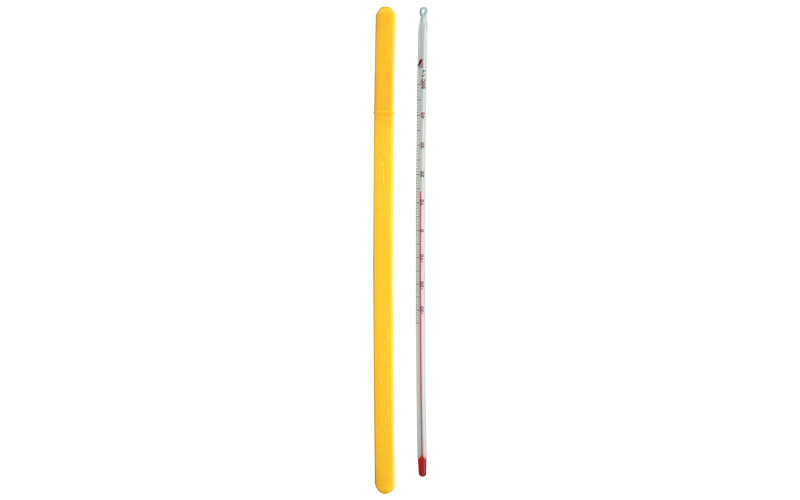 棒状温度計  H-6  アルコール  -30~50℃  30㎝