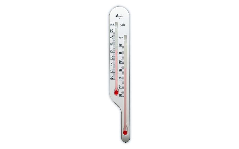 地温計  O-4  地温気温用  ホワイト