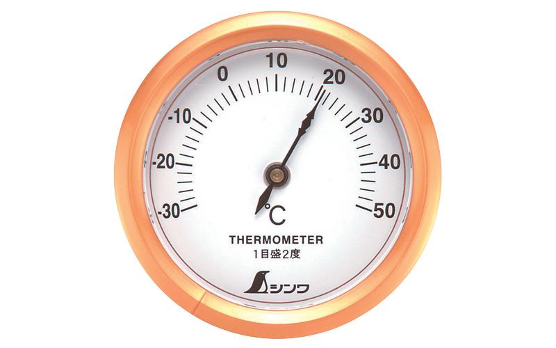 温度計  S-3  丸型  6.5㎝