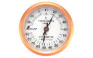 温湿度計  U-3  丸型  6.5㎝