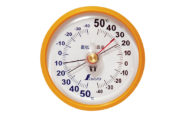 温度計  D-9  最高・最低  丸型10㎝
