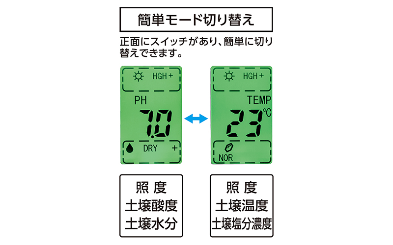 デジタル土壌酸度計  A-2  大文字