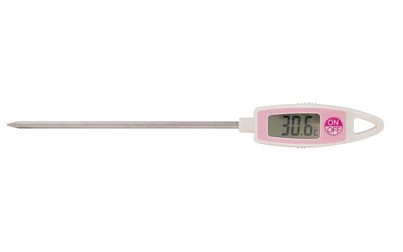 ホームサーモ  デジタル  T  温度  クッキング用  ピンク