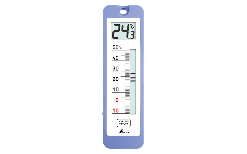 デジタル温度計  D-10  最高・最低  防水型